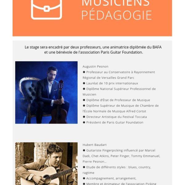 Stage PGF - Professeurs